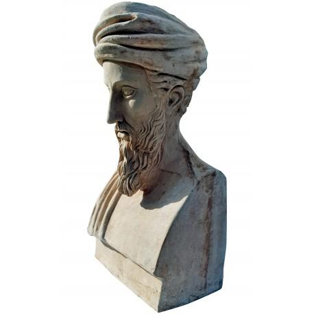 Pythagoras terracotta bust - our production