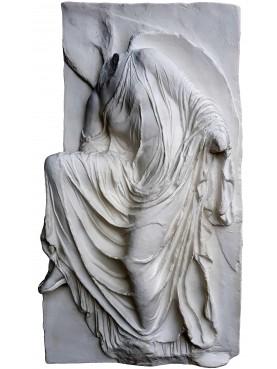 Plaster cast relief
