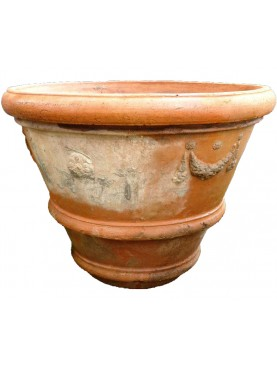 Original ancient Great citrus vase Ø95cms