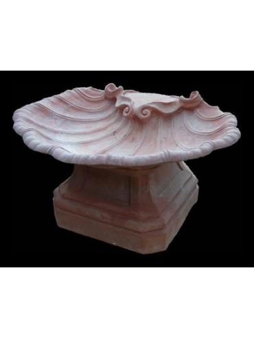Fontana toscana del 500 in terracotta