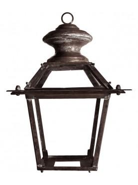 Lanterna classica Toscana da giardino in rame con anello
