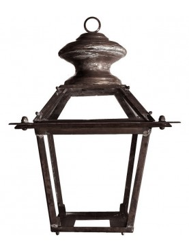Tuscan copper classic Lantern - garden
