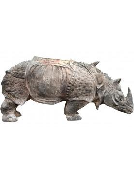 Nostra libera interpretazione del rinoceronte del Durer