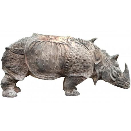 Our free interpretation of Durer's rhinoceros