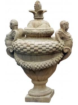 Ricordi di architettura : 1899. Serie II - Vol. V - Vaso della famiglia Serristori