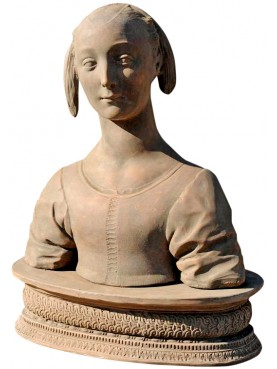 Marietta Strozzi, our terracotta copy