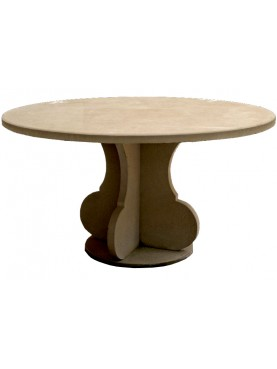 Stone round table Ø140cms - our production