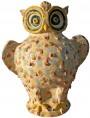 Caltagirone Owl LITTLE size - majolica