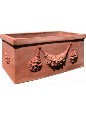 Great terracotta flowers pot from Impruneta