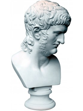 Nerone Roman emperor - plaster cast