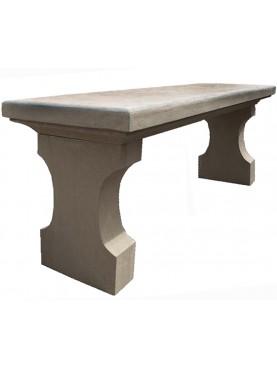 Panchina in pietra serena toscana Porcinai