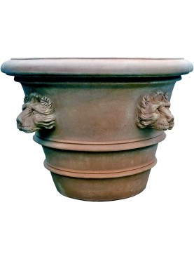 Vaso da Limoni Ø90cm con teste di leone