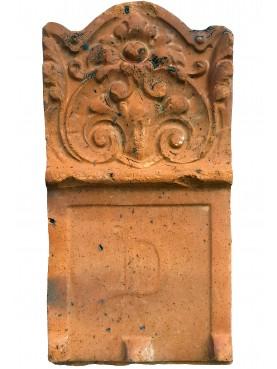 ANTICA aiuola in terracotta di provenienza inglese - gres antigelivo