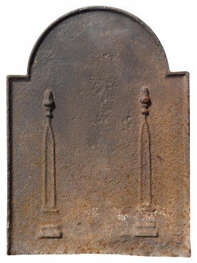 ancient original Fireback - PLAQUE DE CHEMINEE - CAST-IRON