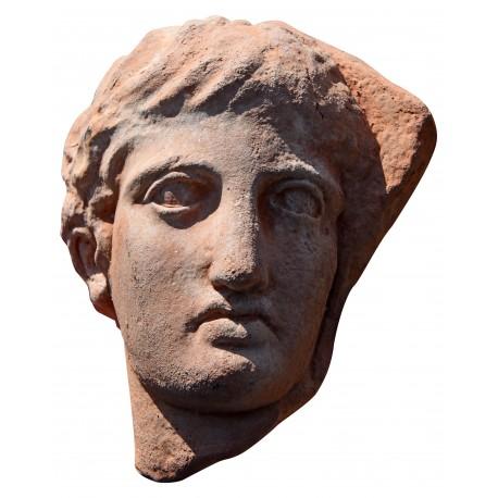 Efebo in terracotta