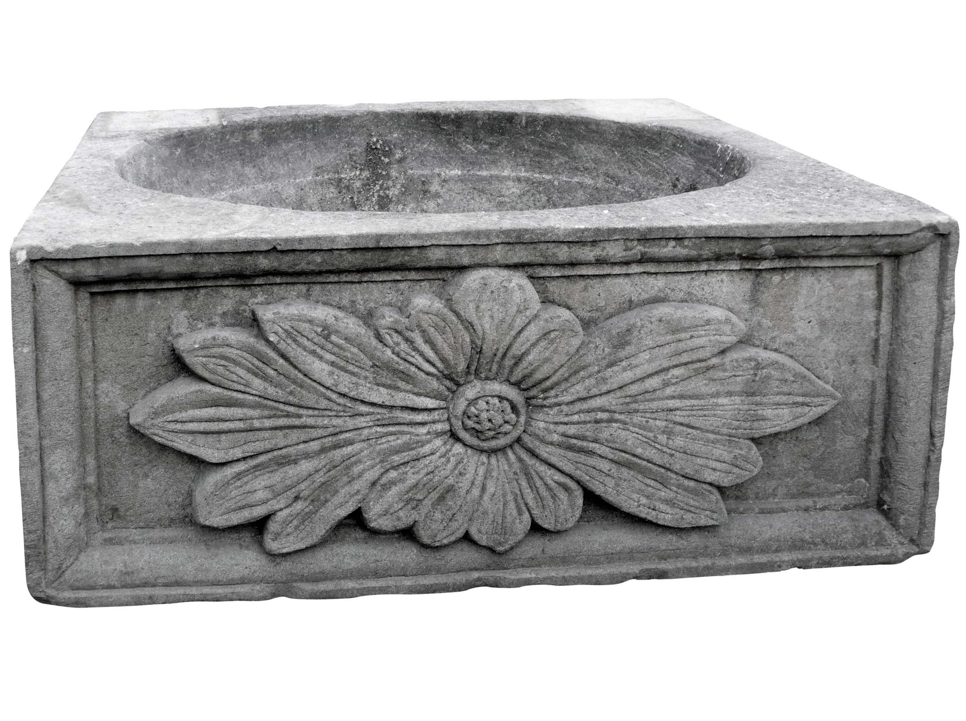 Vasca Giardino Pietra : Vasca da giardino recuperando