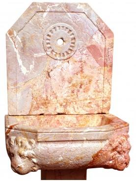 Fontanella in rosso Verona con piede