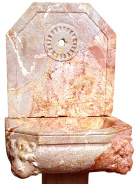 Lime stone fountain with leg