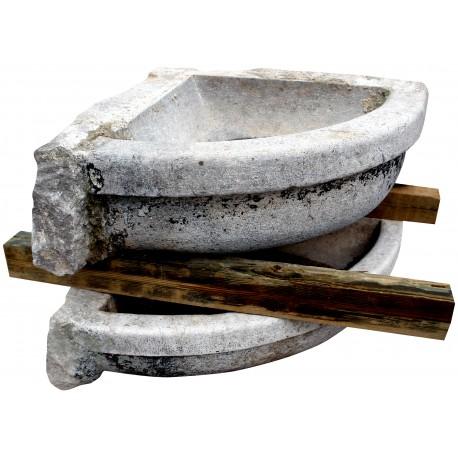 Large corner sink antique original old wash house