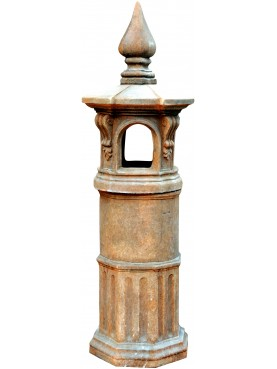 CHIMNEY POT from North Italy 25 cm diam.