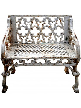 Cast iron armchair French origin - Val d'Osne foundry