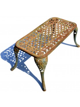 Little cast iron bench