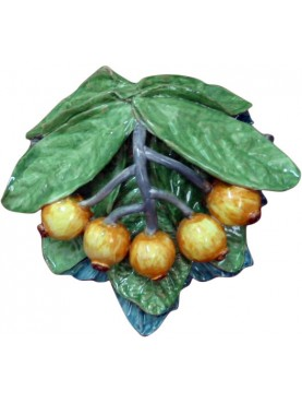 Medlars with leafs