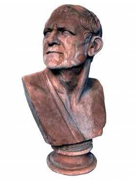 Lysimachus, terracotta bust of the Augustean age - our copy