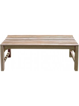 Small teack bench 120 cm