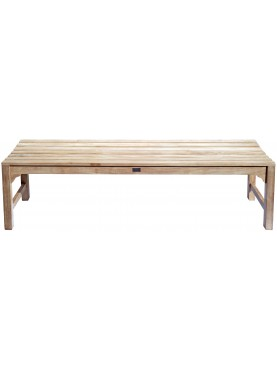Small bench in teak - 170 cm