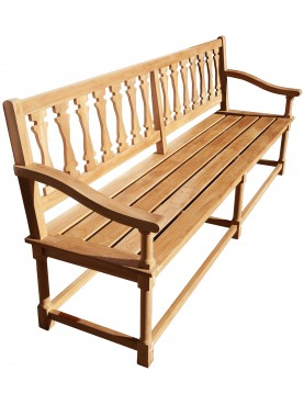 Great teak bench