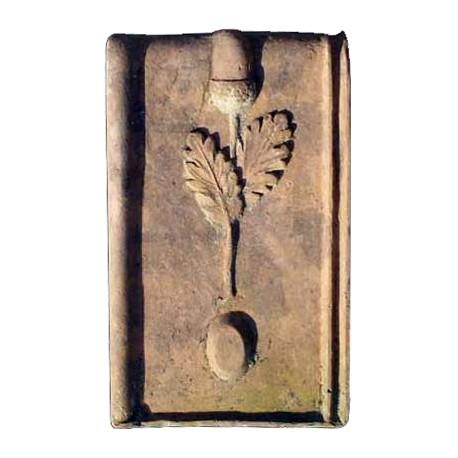 Riproduzione di una tegola dell' 800 fornace la Quercia di Aulla