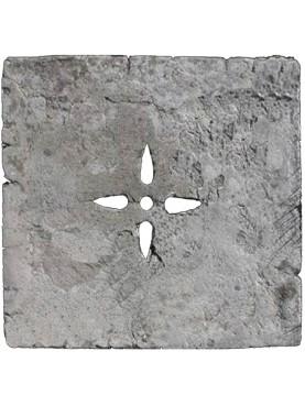 50x50cm Tombino in pietra serena