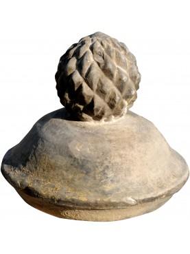 Pigna in pietra H.27cm di nostra produzione
