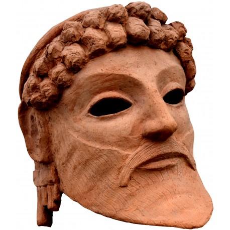 Zeus arcaico greco - testa terracotta