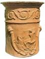 Vaso di Nettuno - cilindrico, copia di un vaso romano del I secolo d.C.