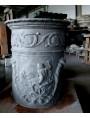 Work in progress - vasi in argilla cruda in essiccazione
