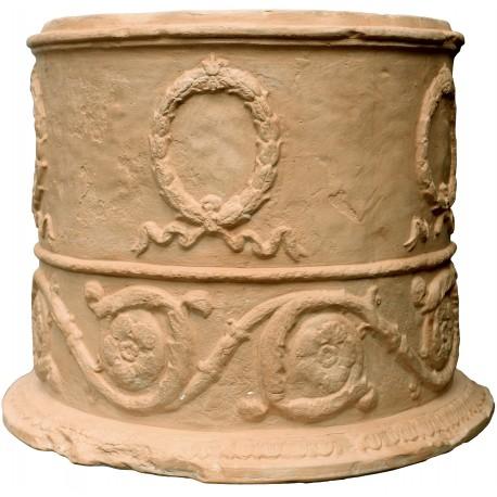 Vaso Romano a festoni - cilindrico, copia di un vaso romano del I secolo d.C.