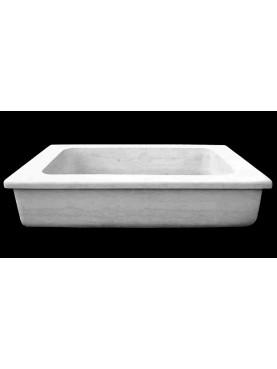 Lavandino moderno in marmo