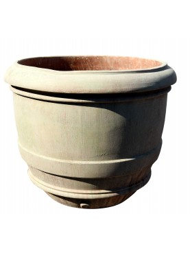 Conca globosa da Limoni Senese Ø60cm vaso terracotta