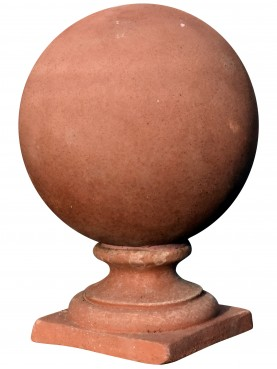 Sfera in terracotta con diametro 27 cm