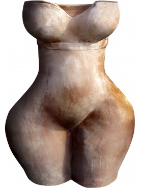 Vaso antropomorfo femmineo