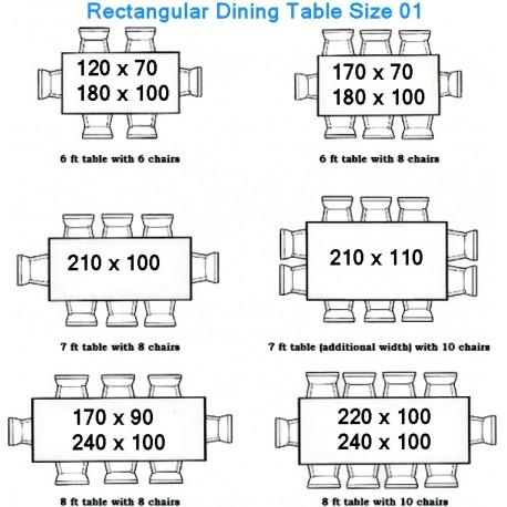 Misure Tavolo Da 6 Rettangolare.Come Calcolare Le Misure Di Un Tavolo Recuperando
