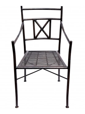 Iron chair - TUBE AND ROUND