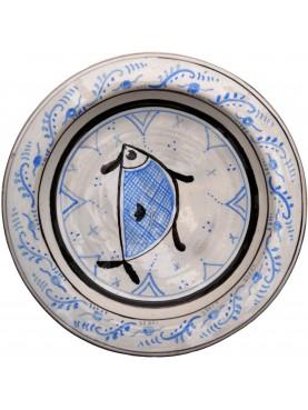 Bacini ceramici medioevali pisani - pesce da San Jacopo in Metato (Pisa)