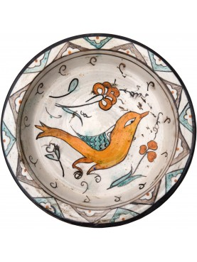 Copy of an ancient medieval Tuscan dish - bird