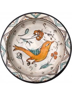 Bacini ceramici medioevali pisani - uccello