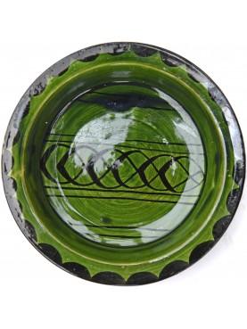 Bacini ceramici medioevali pisani - piatto verde