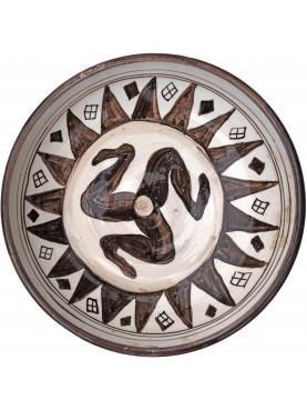 Bacini ceramici medioevali pisani - triscele