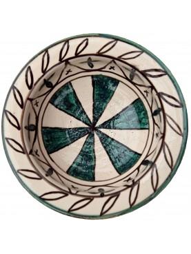 Bacini ceramici medioevali pisani - motivi geometrici